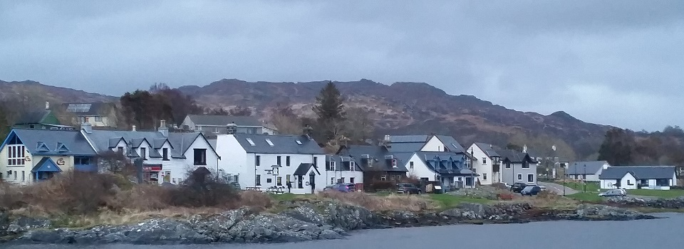 Arisaig-villaggio