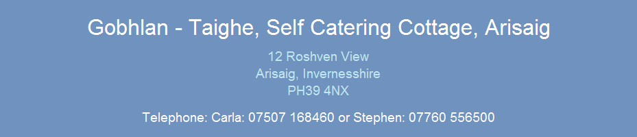 Arisaig Self Catering